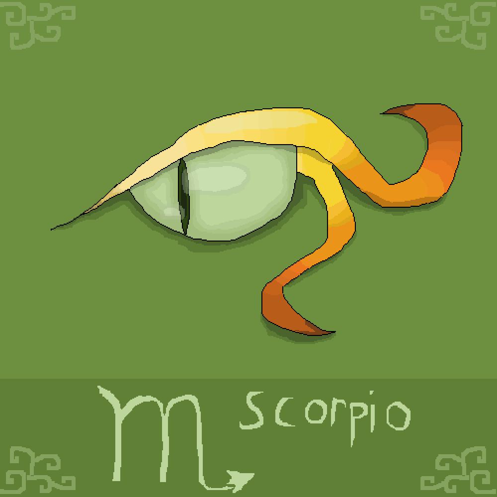 Scorpio Eye by Rakowskyi