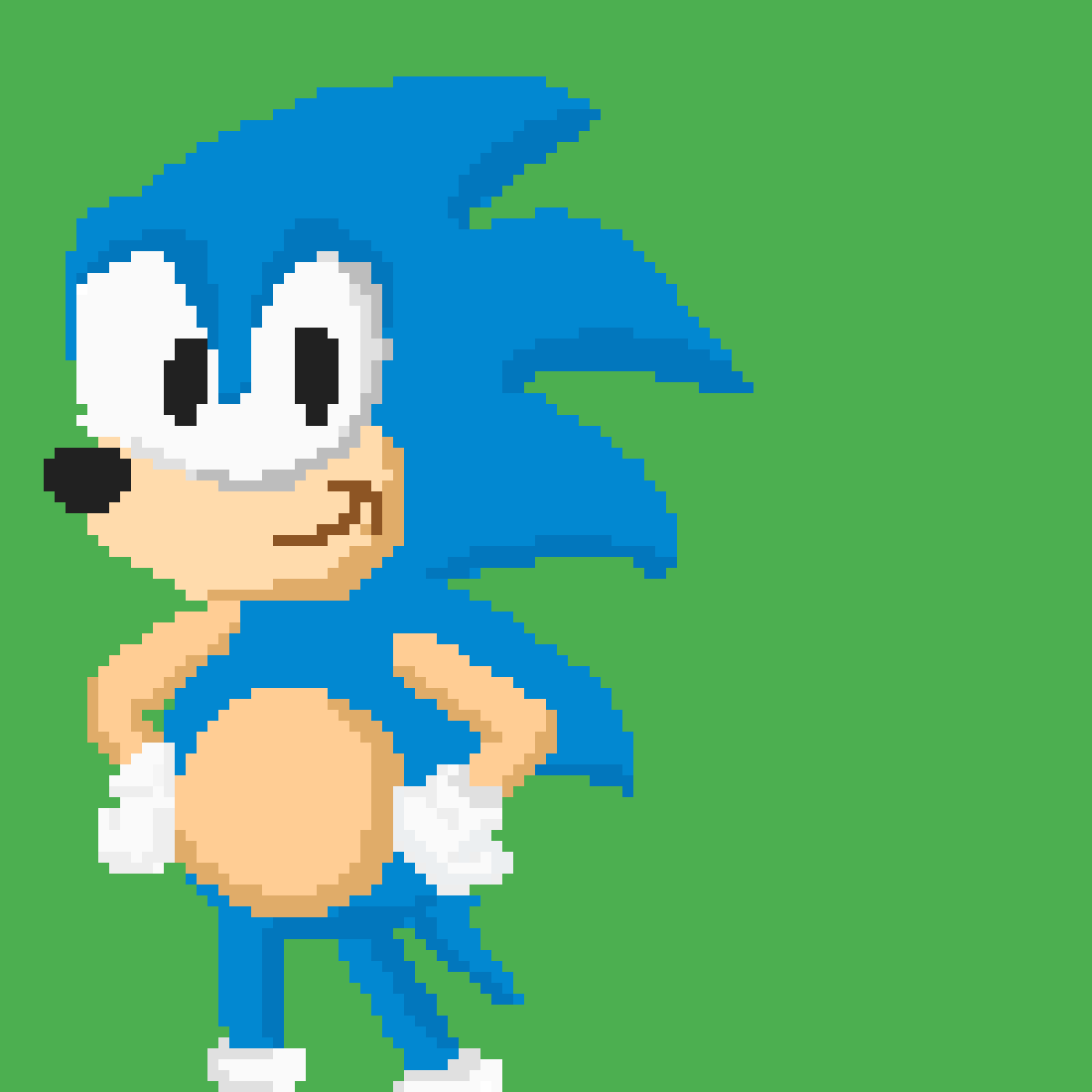sonic the hedgehog by That8-BitDude