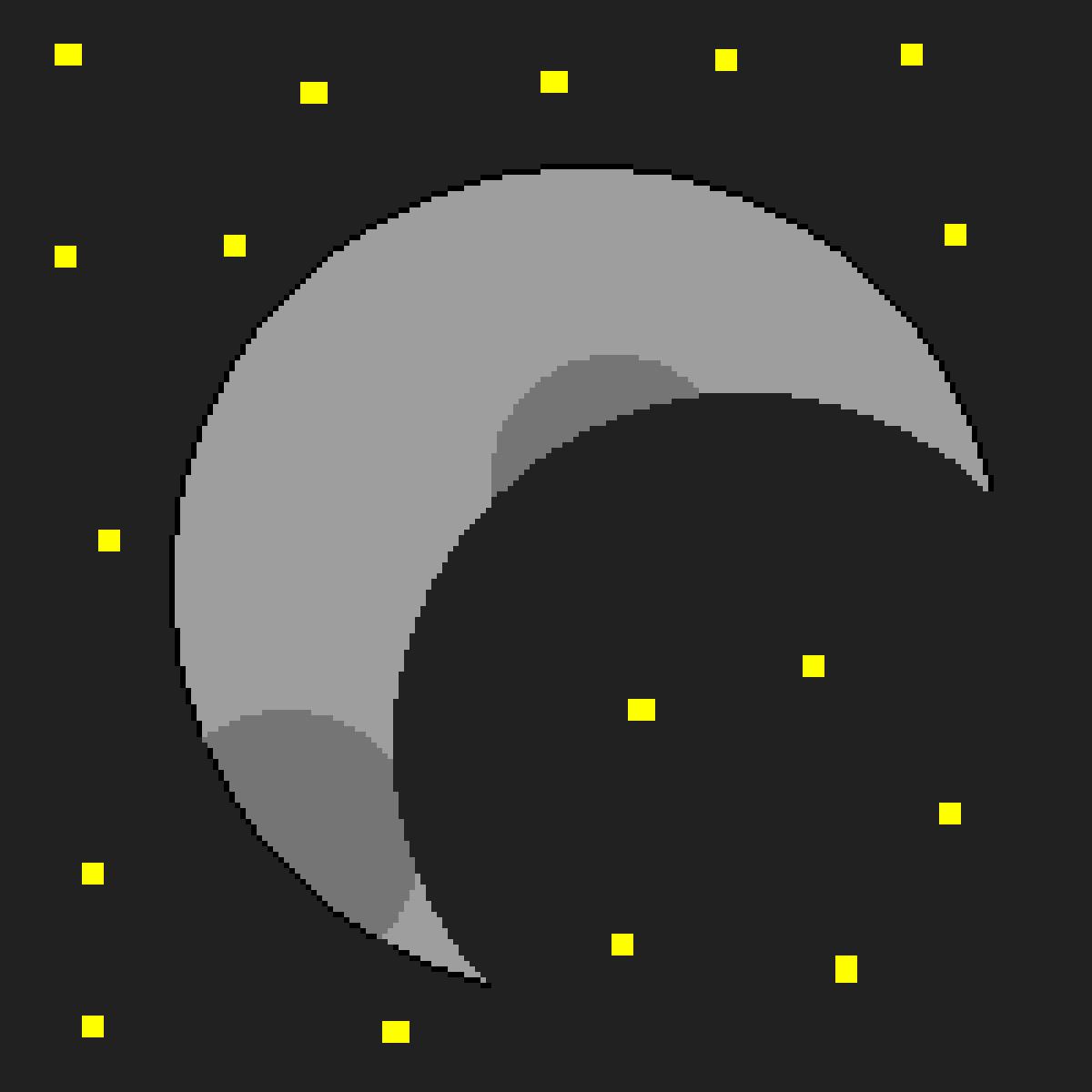 my moon by LolaAndAmelia