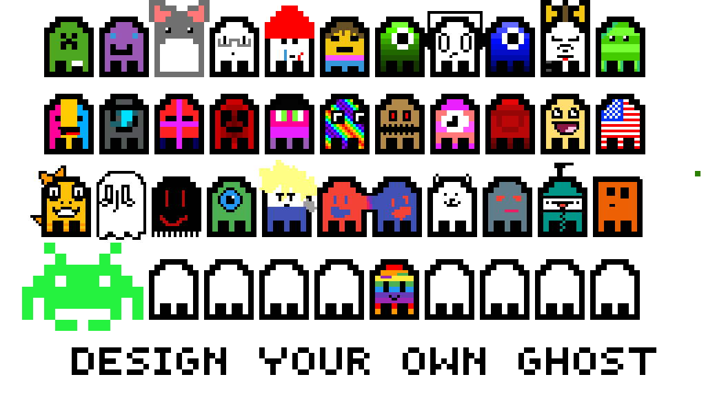 Draw Your Own Ghost by akbleyaert