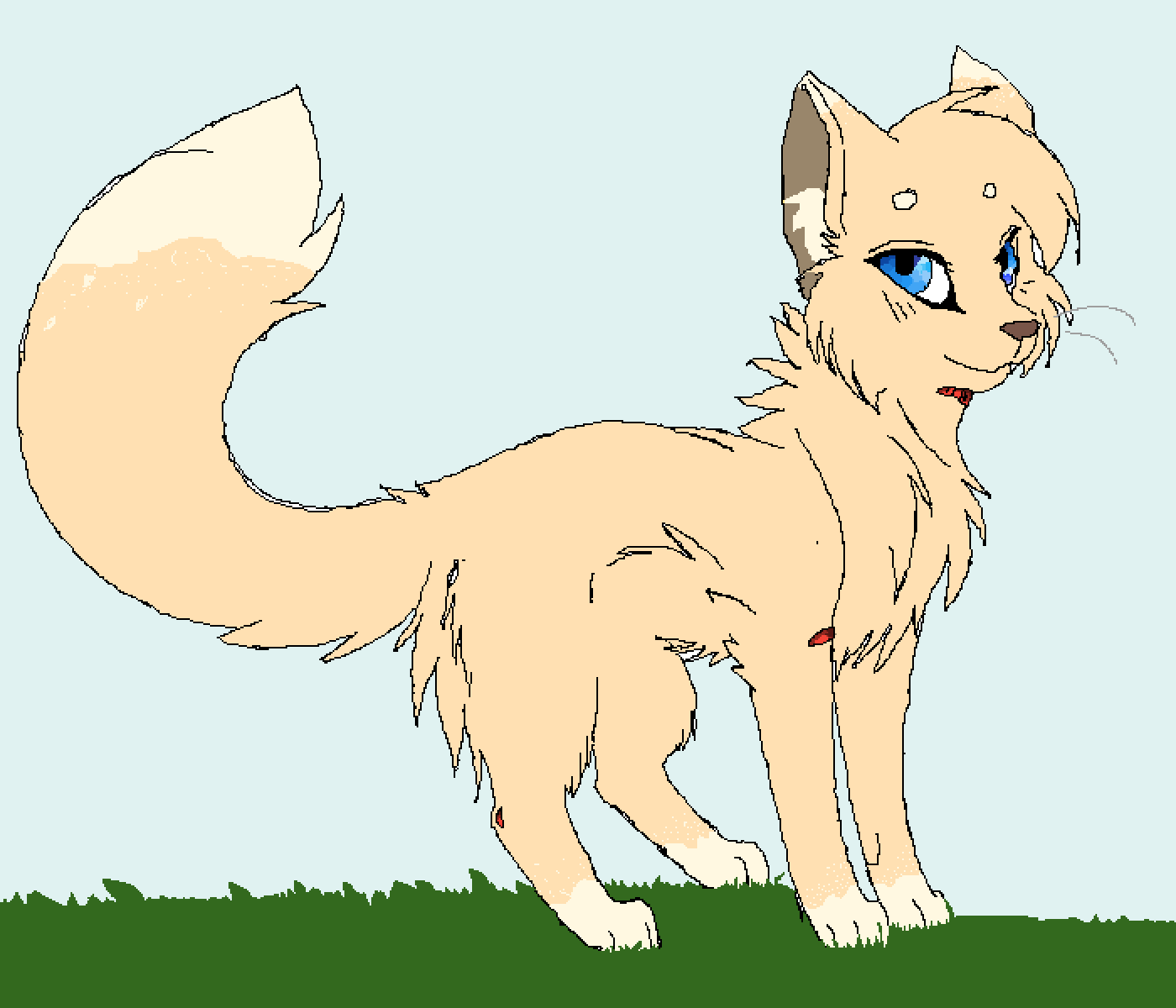 my new oc dreamfeather by Dream-the-wolf
