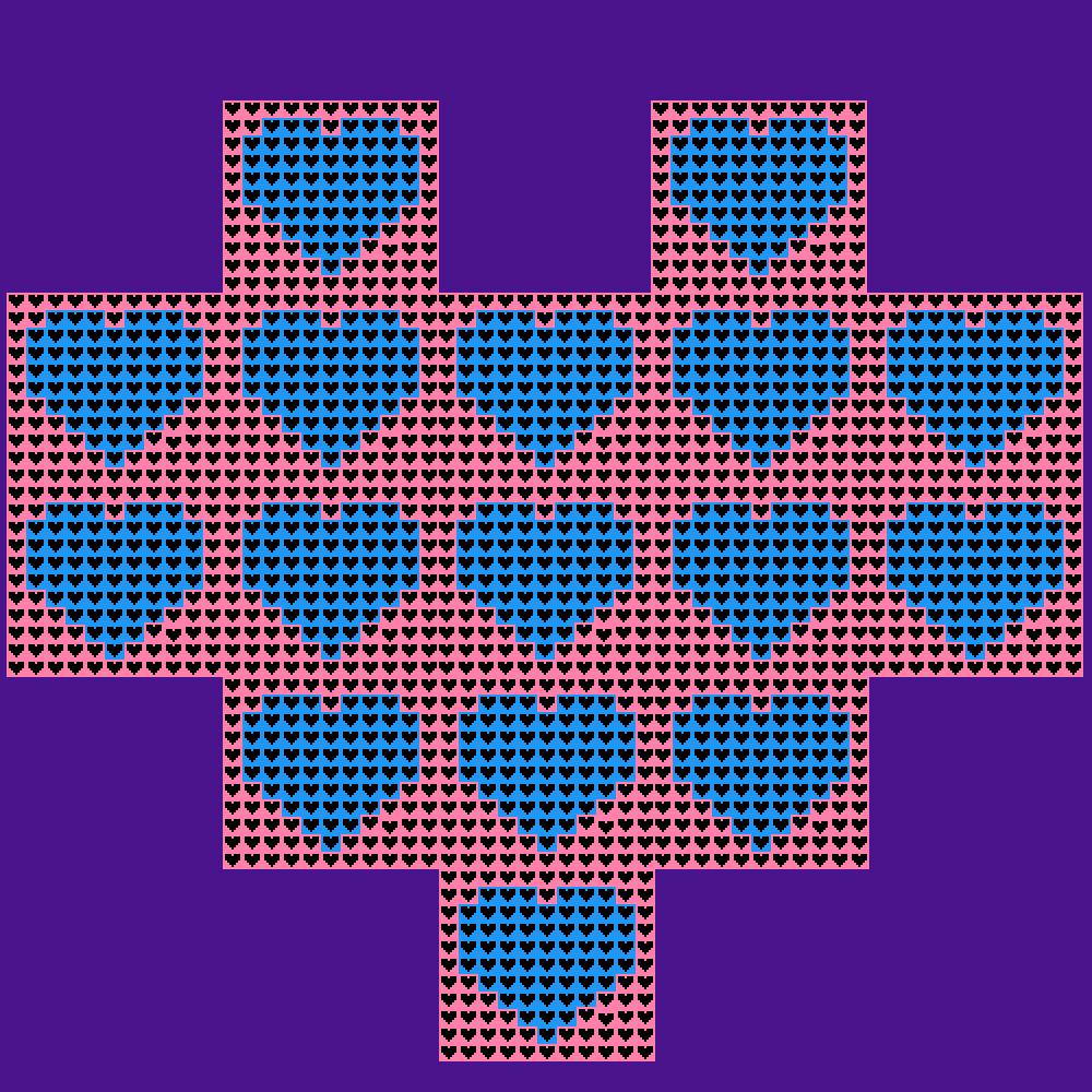 a heart made out of hearts made out of hearts by randomperson123