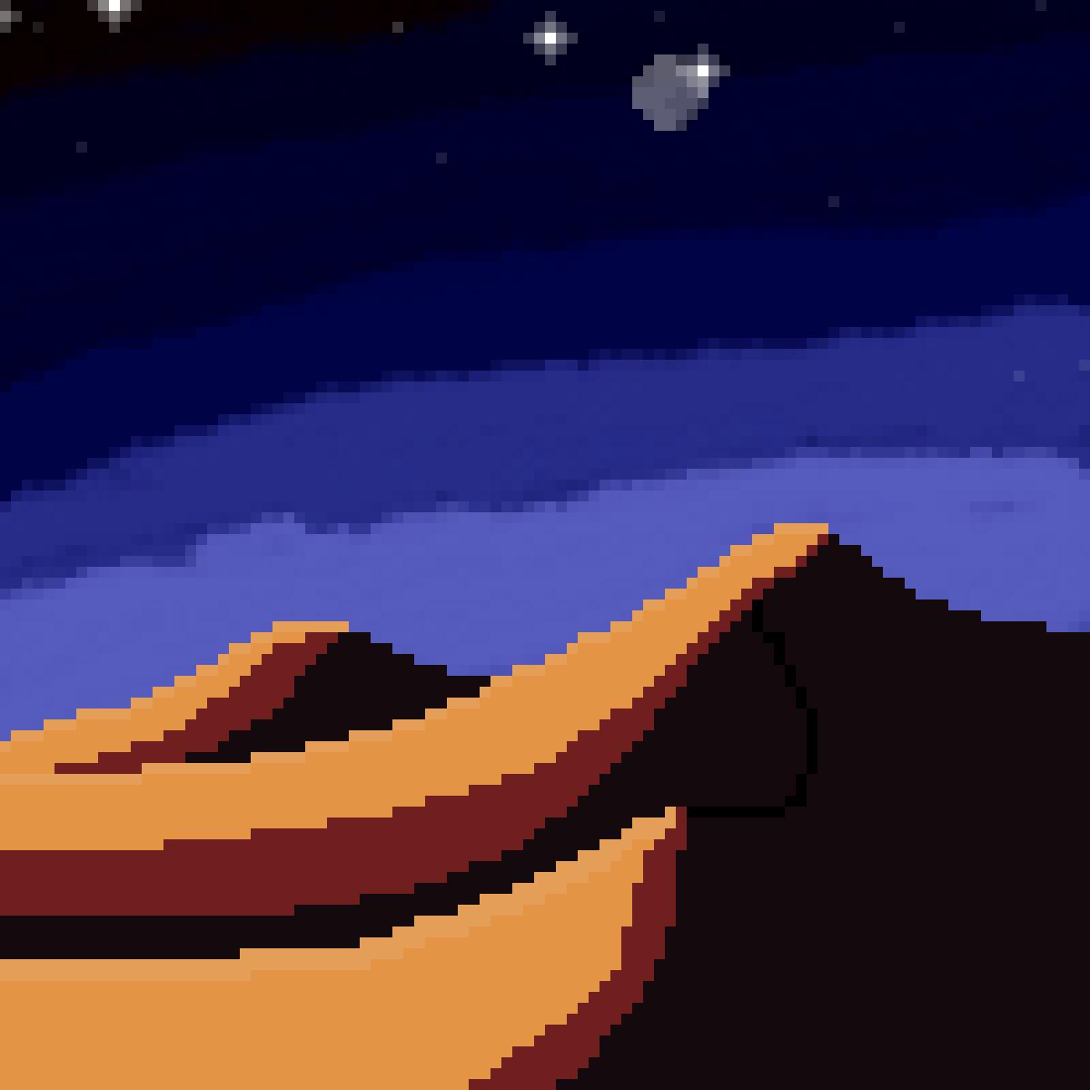 Desert Scene by VLPine