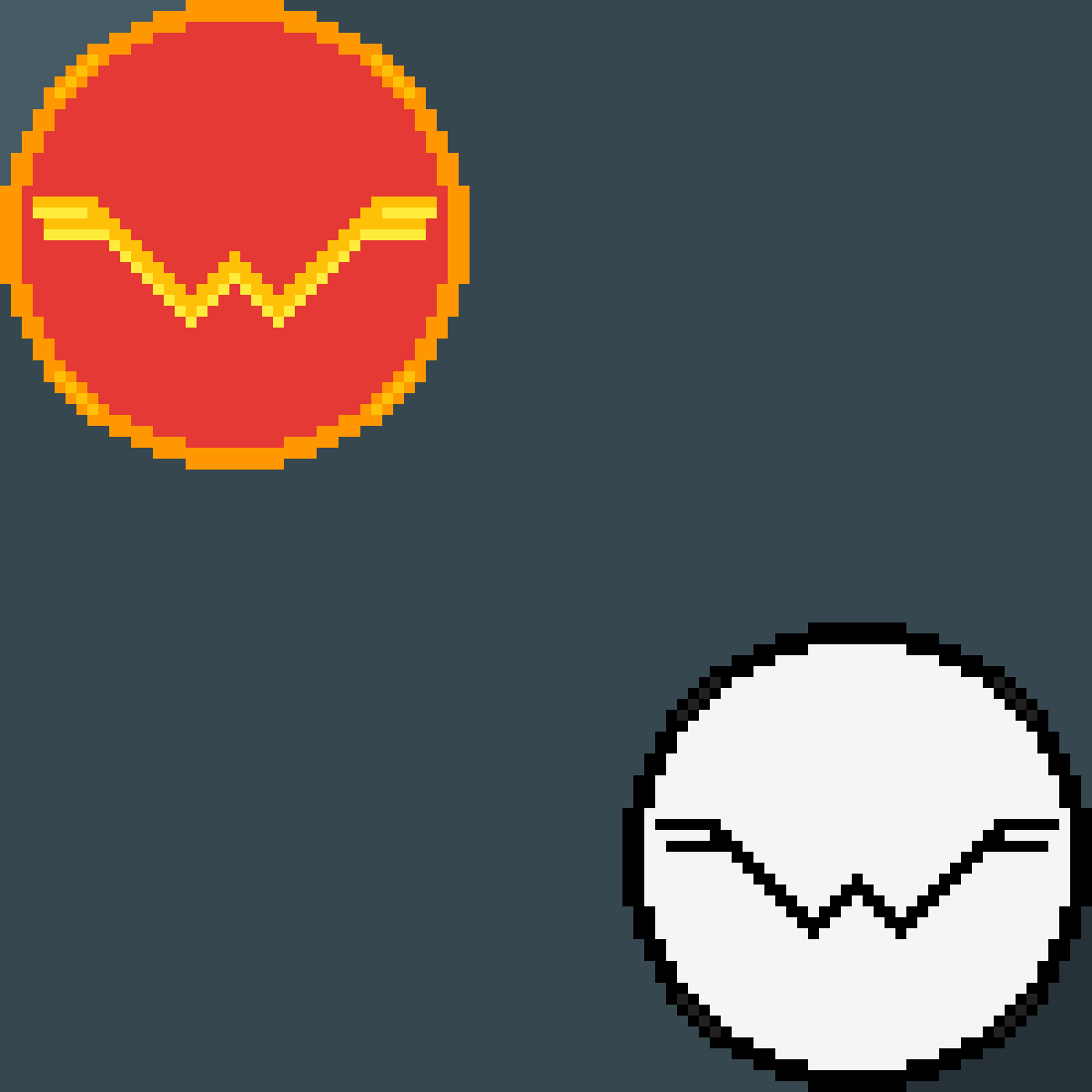 Wonder Woman and weezer logos by AA1234