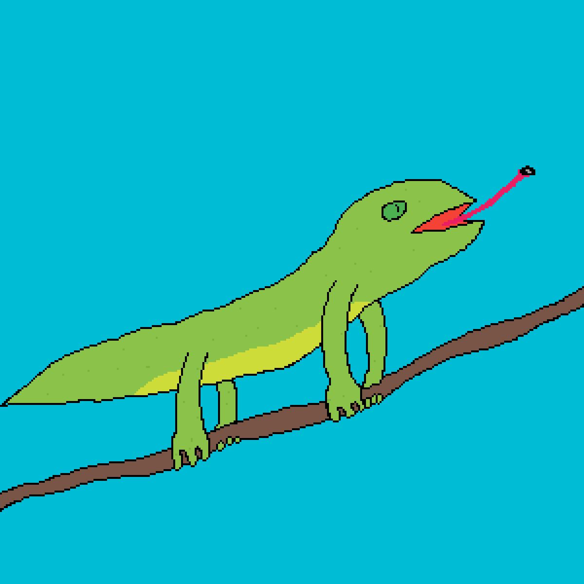 Lizard by Flashy
