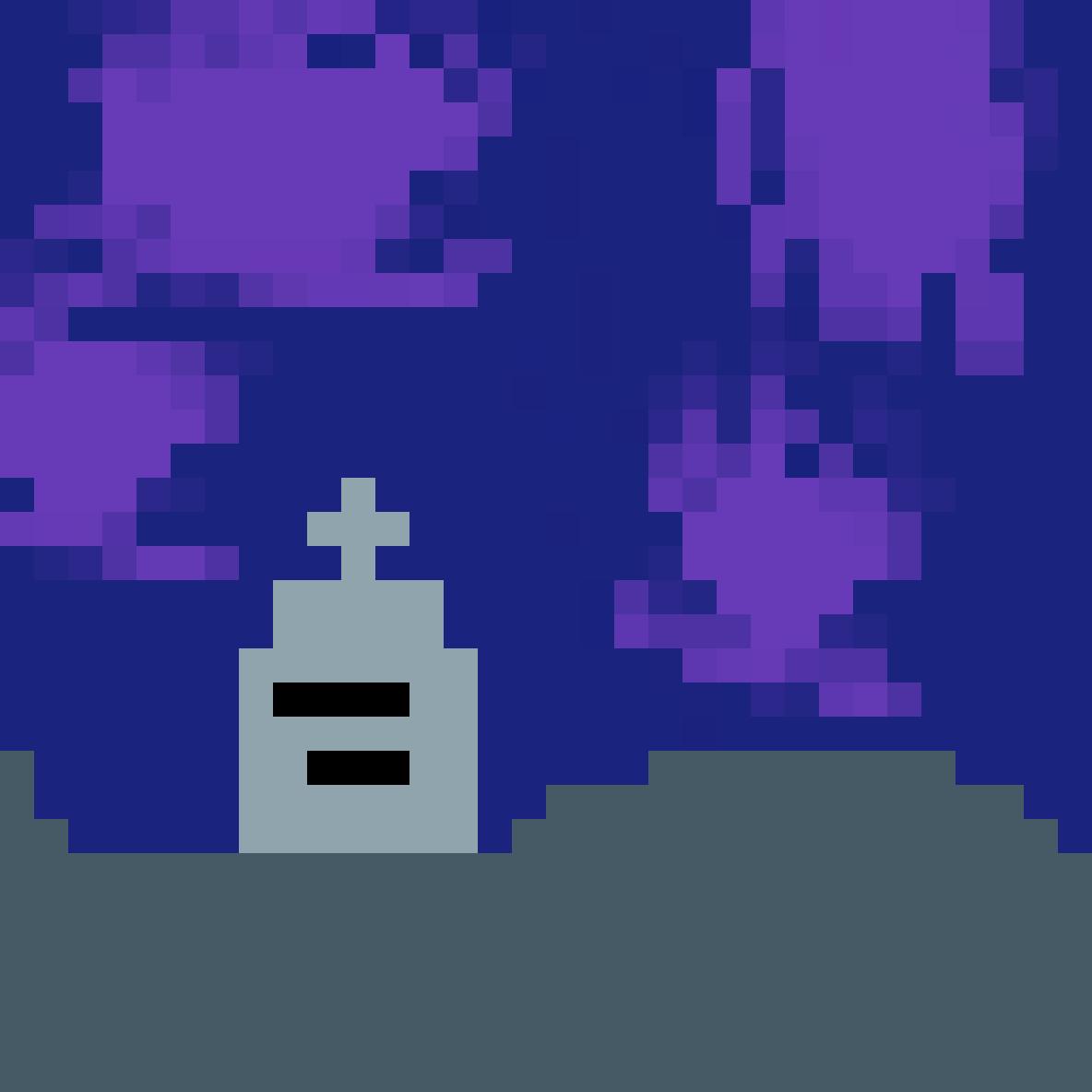 Spooky Graveyard  by MythicalPanda