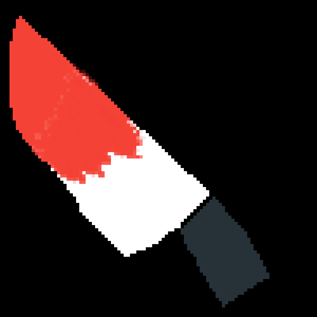 Chara's Knife by FloweytheTEM