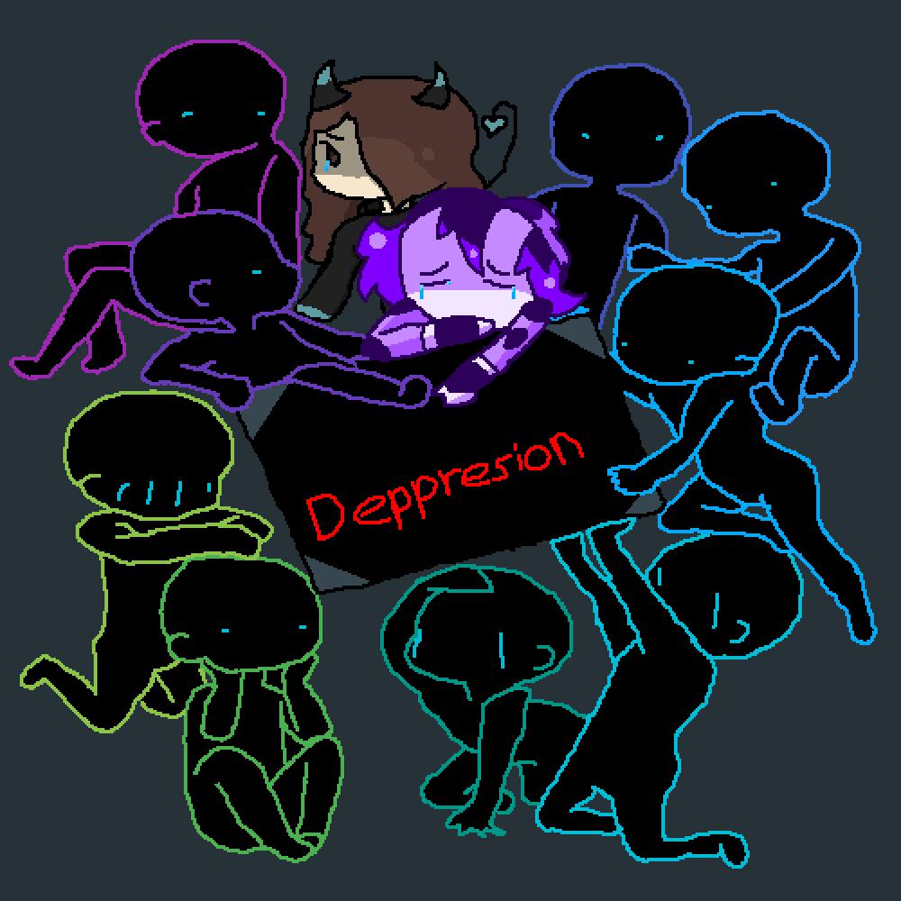 Hooray, depression.... by ConfusedAndDead