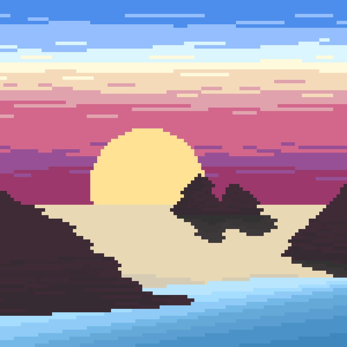 Sunset by Lucid