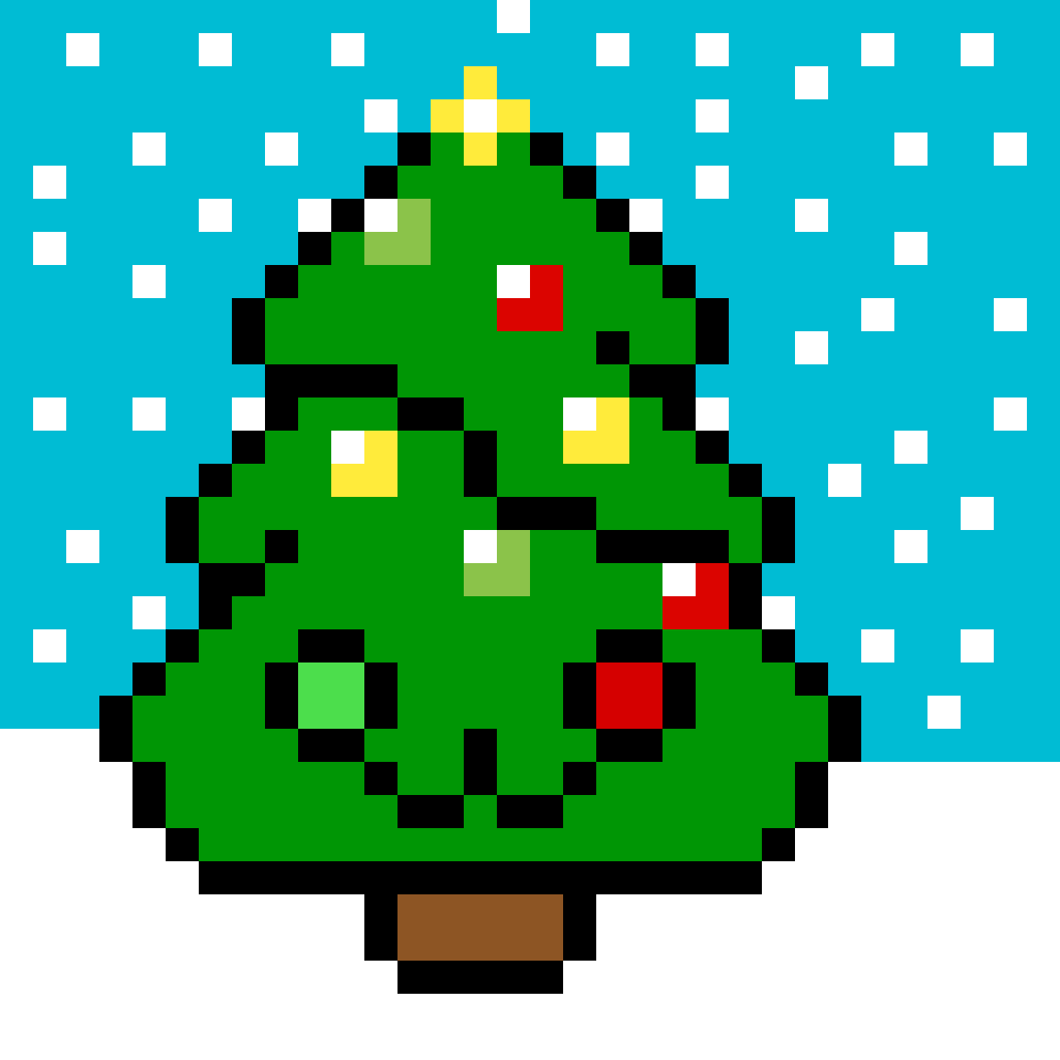 Cute Christmas Tree by Aphmul