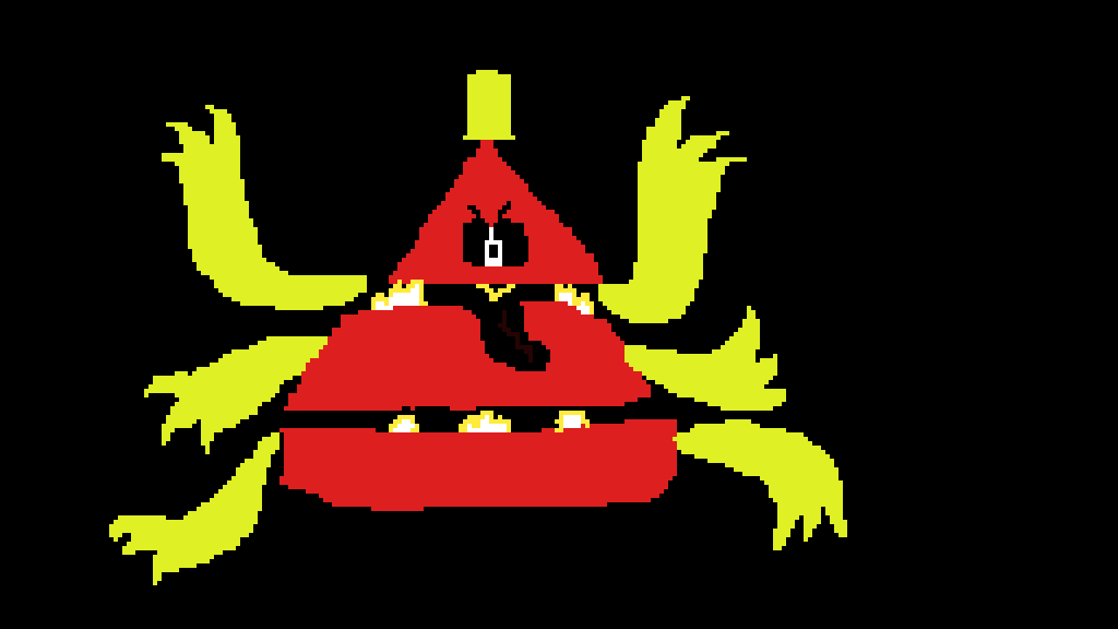 Pixilart Bill Cipher Mega Form By Anonymous