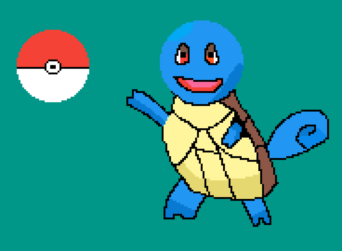 Squirtle (Pokemon) by DatBoi77