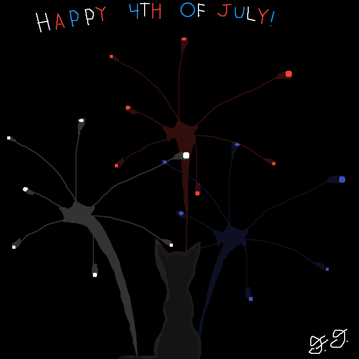Happy 4th of July everyone!!! :) by The-Frizzler