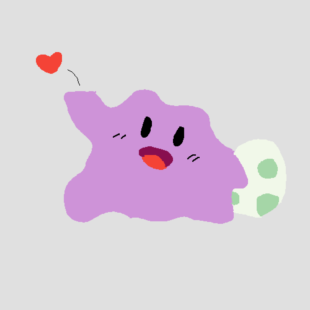 cute ditto by jackypoh123