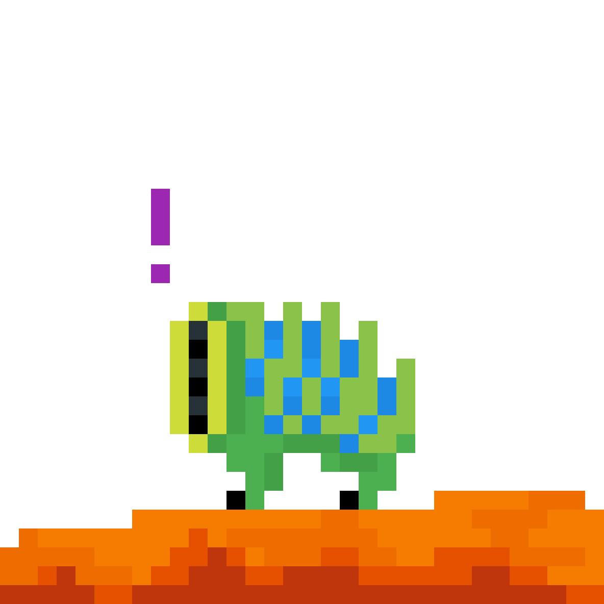 pixel houndeye! by robotboredom