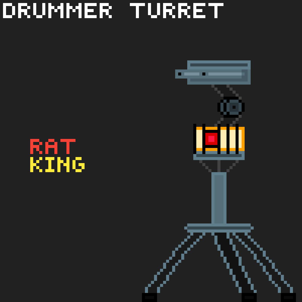 Drummer Turet by Rat-King