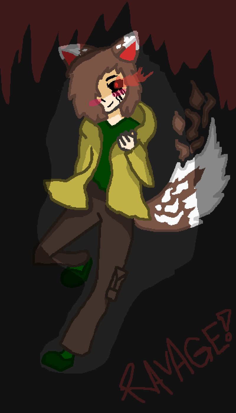 Ravage!shift Chara (Request for @MegaCobalion456) by Amye-O-Shamie