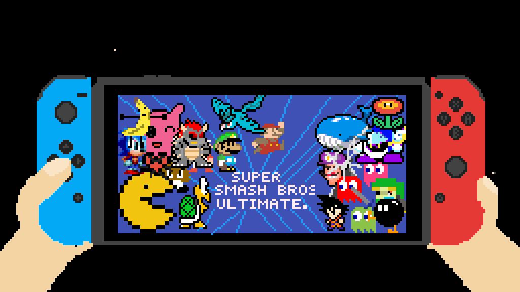 Nintendo Switch! - Super. Smash. Bros. by SharkTooth