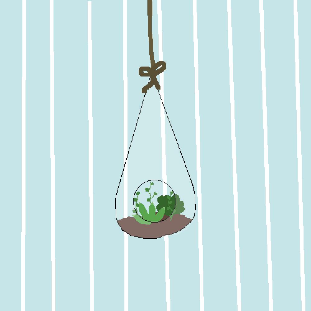 floating terrarium  by bitter-pill