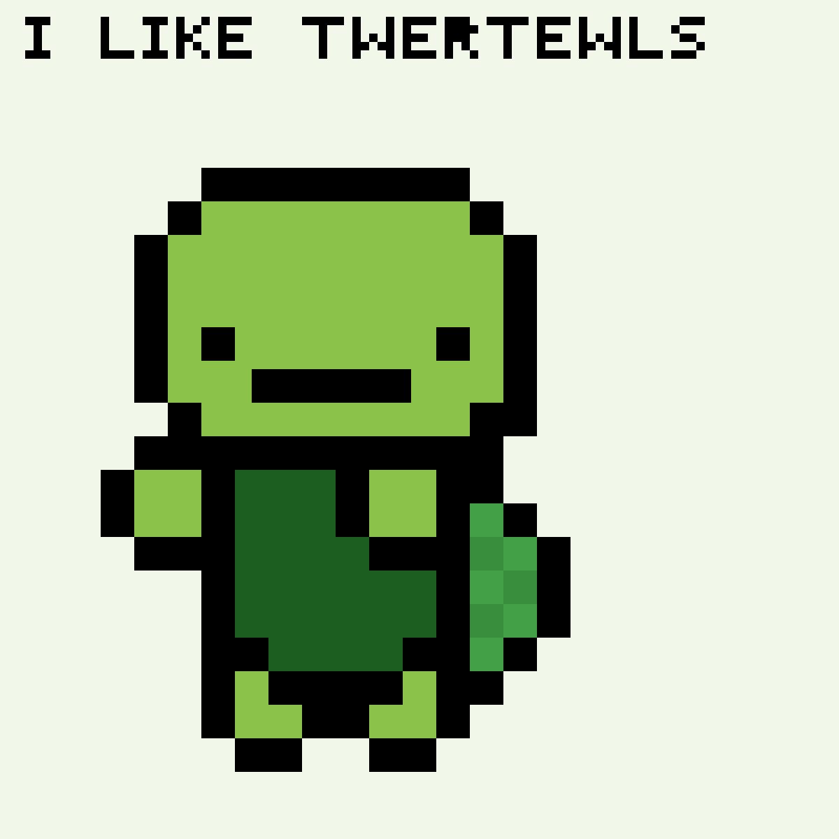 I like twertewls by piglover