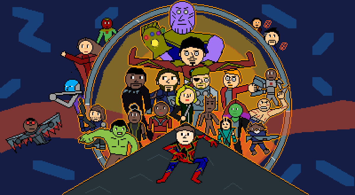 Avengers : Infinity War  by Pixel-Lord-12