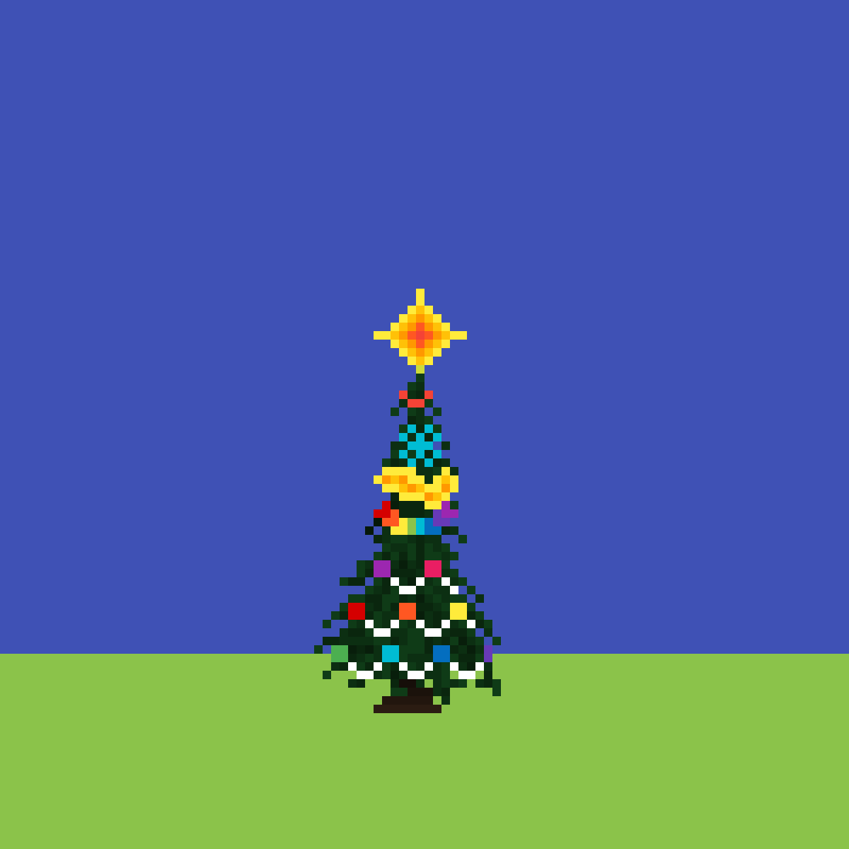 christmas tree by tasya-paramitha
