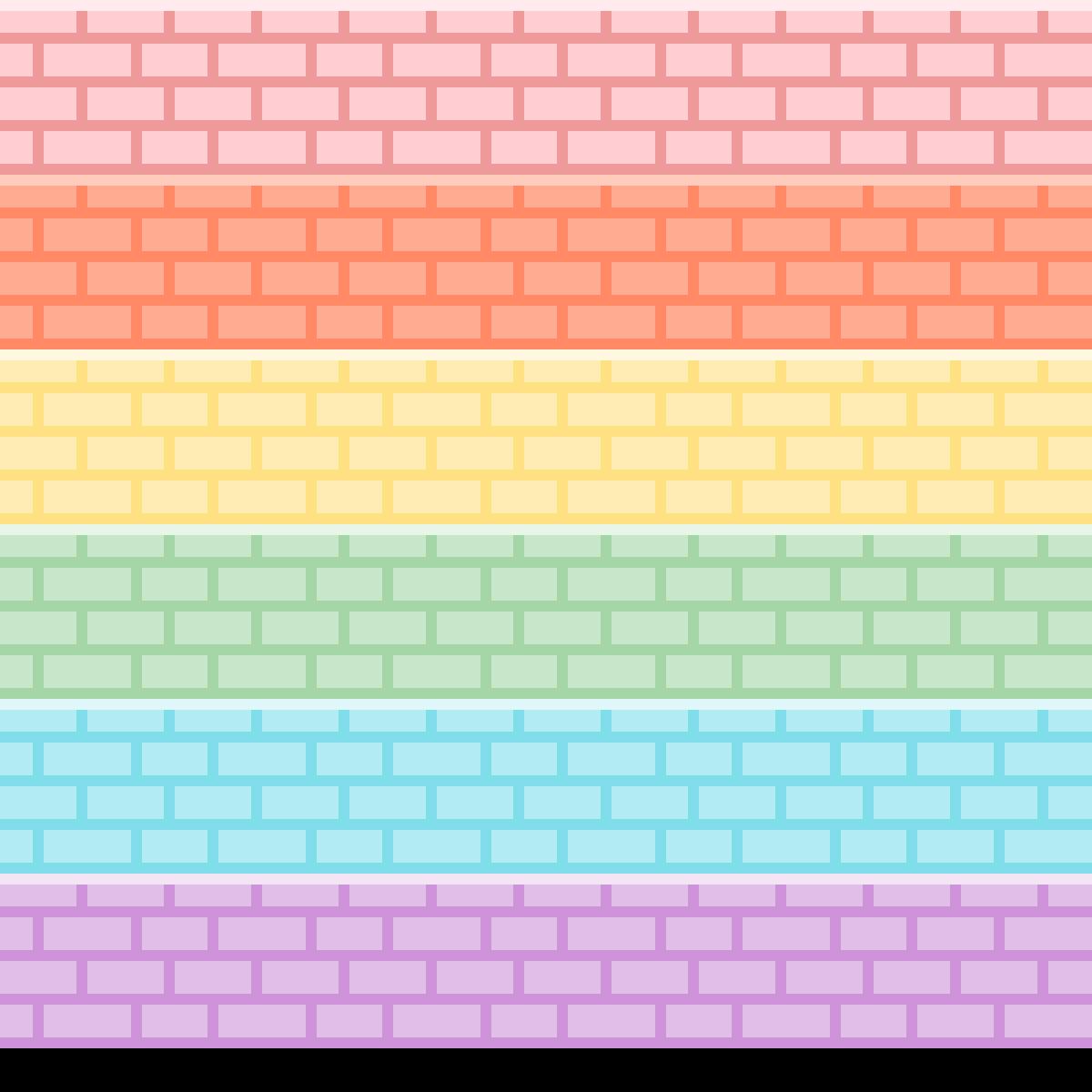 ~ Pastel Brick ~ by Nathicha-Miki15