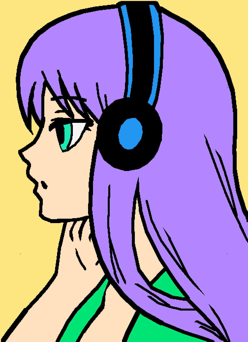 Anime Girl  by lawton
