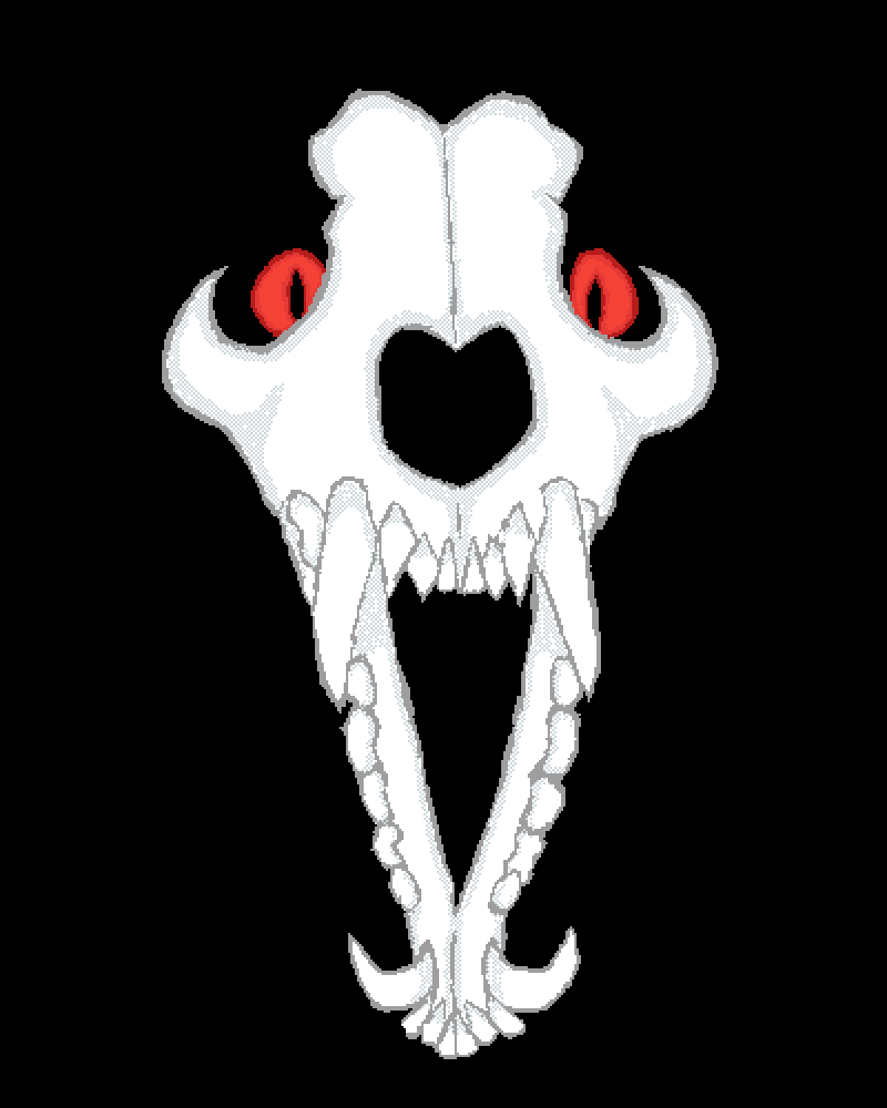 Wolf Skull by Fantrashtic