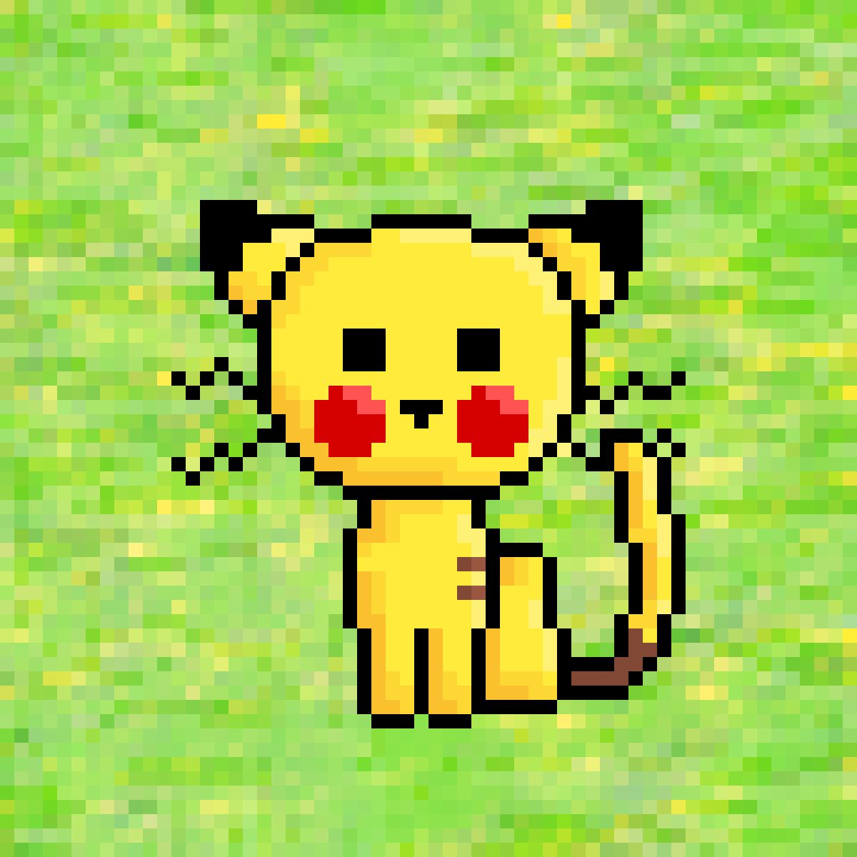 Pikachu Cat by Thoo