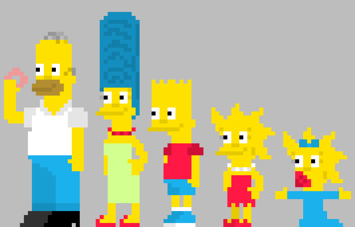 the simpsons by Lfire13