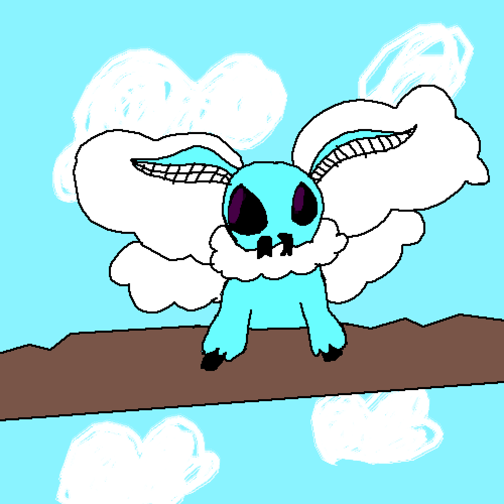 Cloud Moth by Axes432