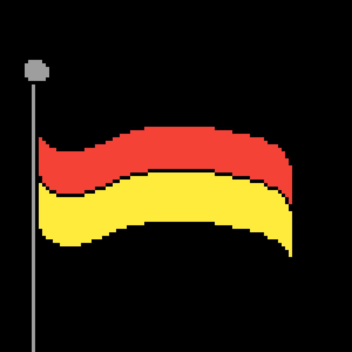 pixilart flage by zaubergamer