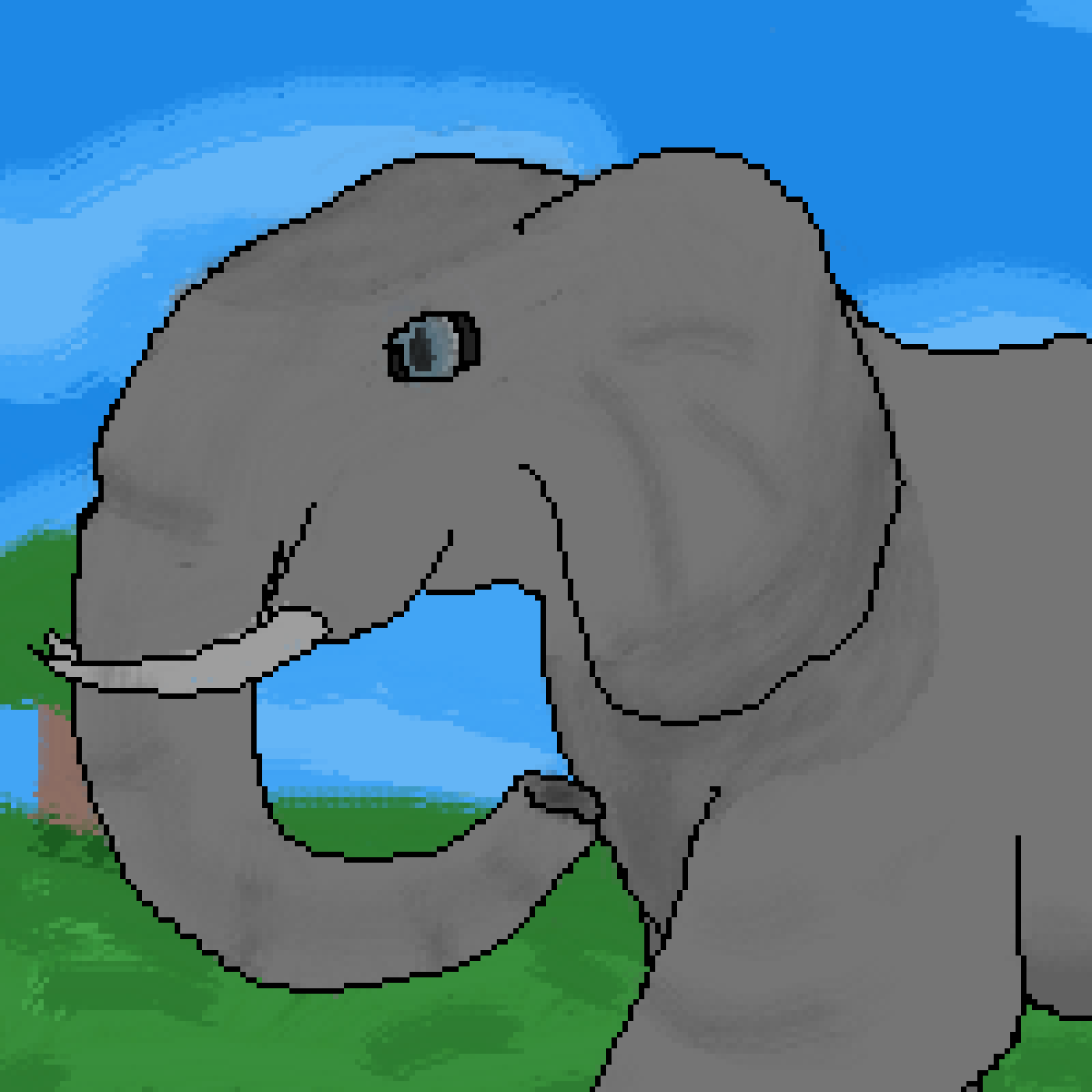 main-image-Elephant   by LionArtist