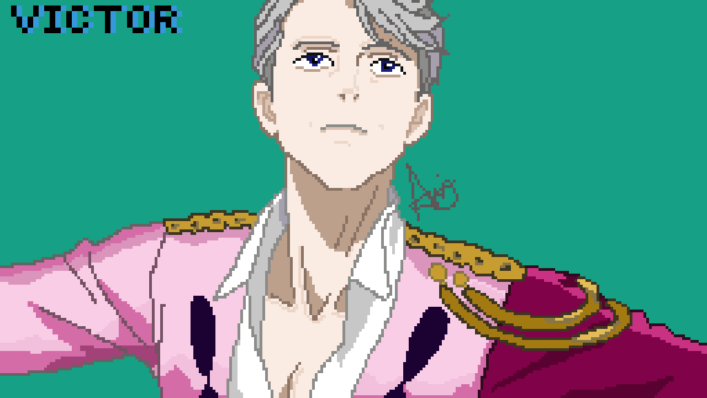 Victor Nikiforov ~ Yuri on Ice~ by Ironseptic22