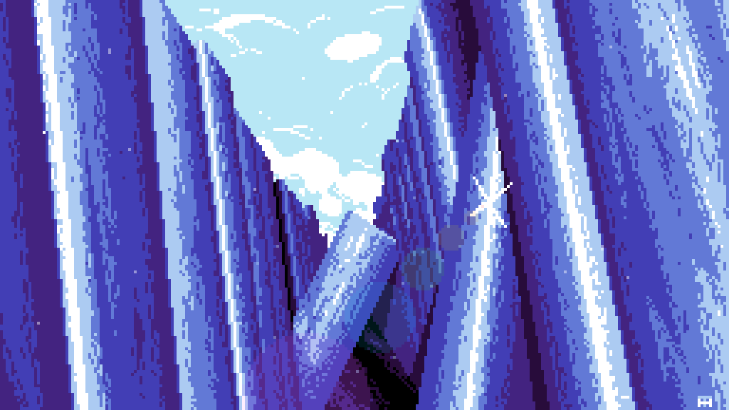 Crystal mountains by darkstar