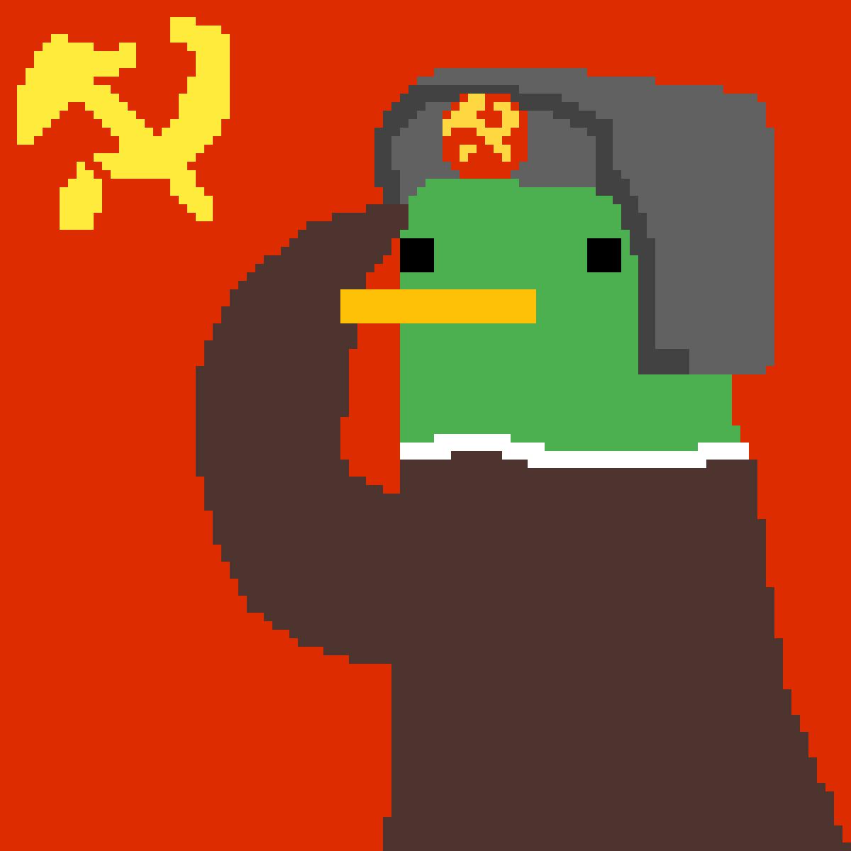 Communist Duck by ThiccDucc