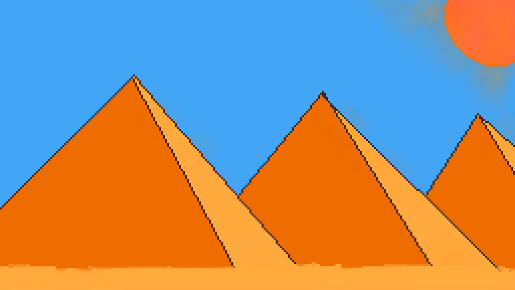 the pyramids by lexymaster