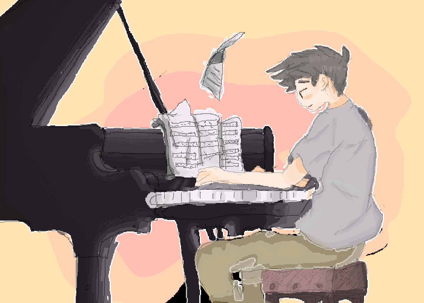 Music dreams. by RaisinOat