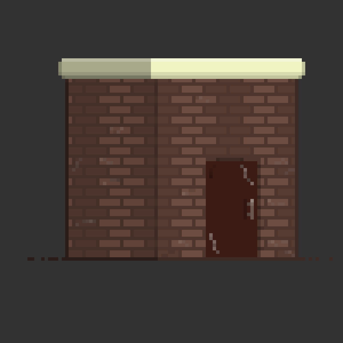 That Tiny Brick Building from Every Park Ever. by TheNineBall