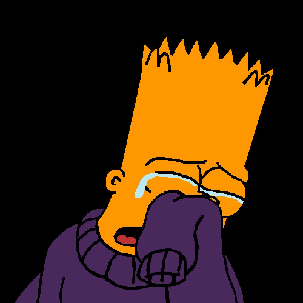 Осенью веселые, картинки симпсоны грустные
