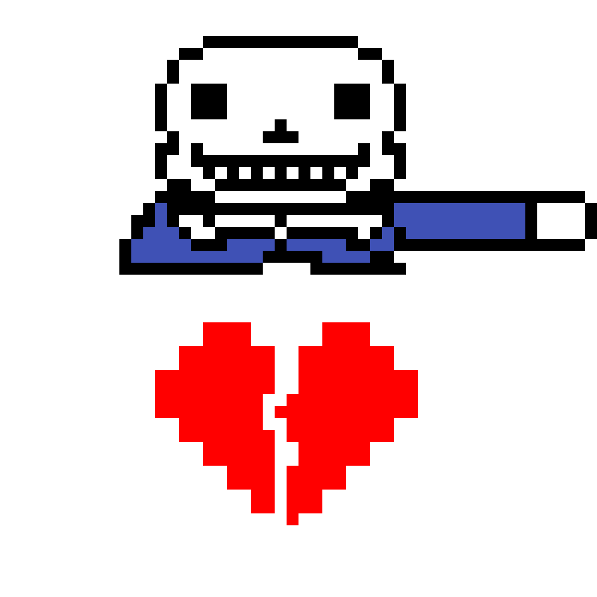 Sans has determination by pixlecheese