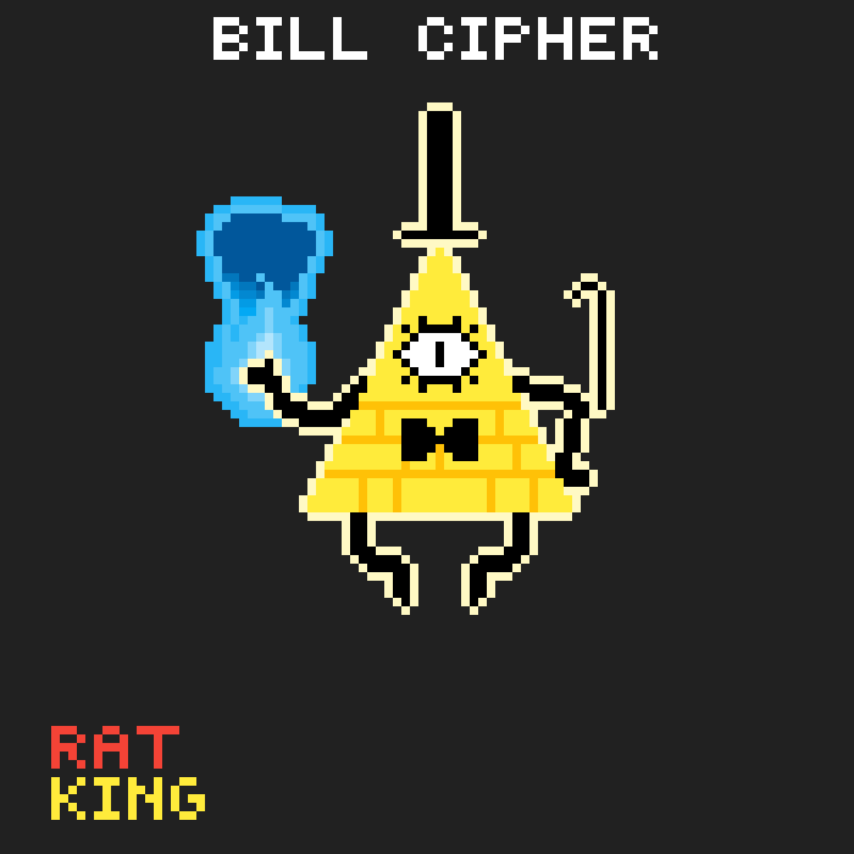 Bill Cipher by Rat-King