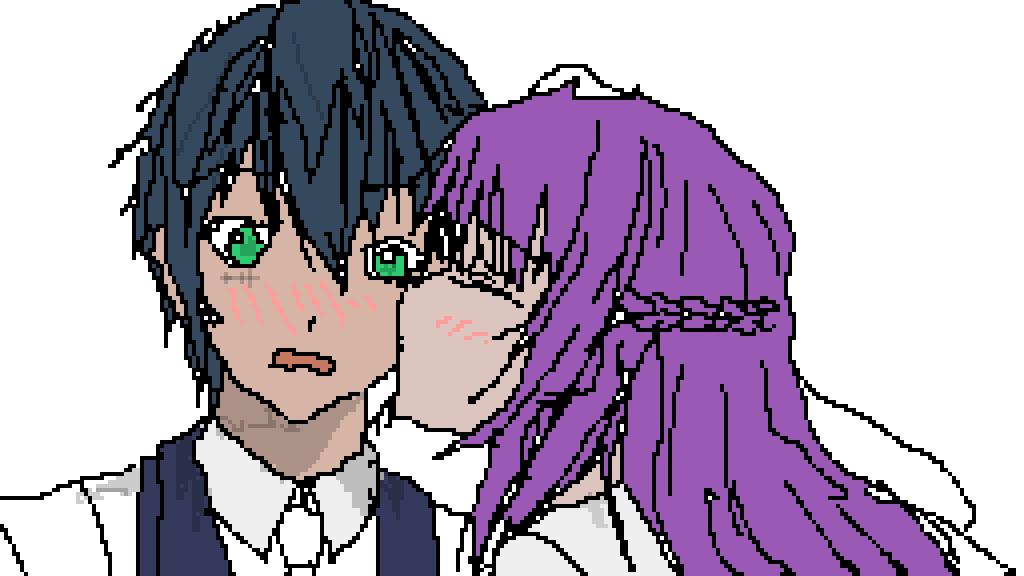 Cute Anime Love Kiss