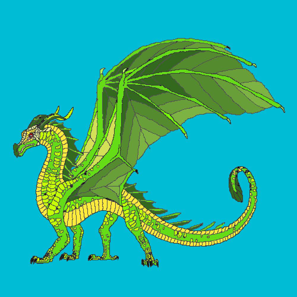 Leaf dragon by DarkDerpy2527