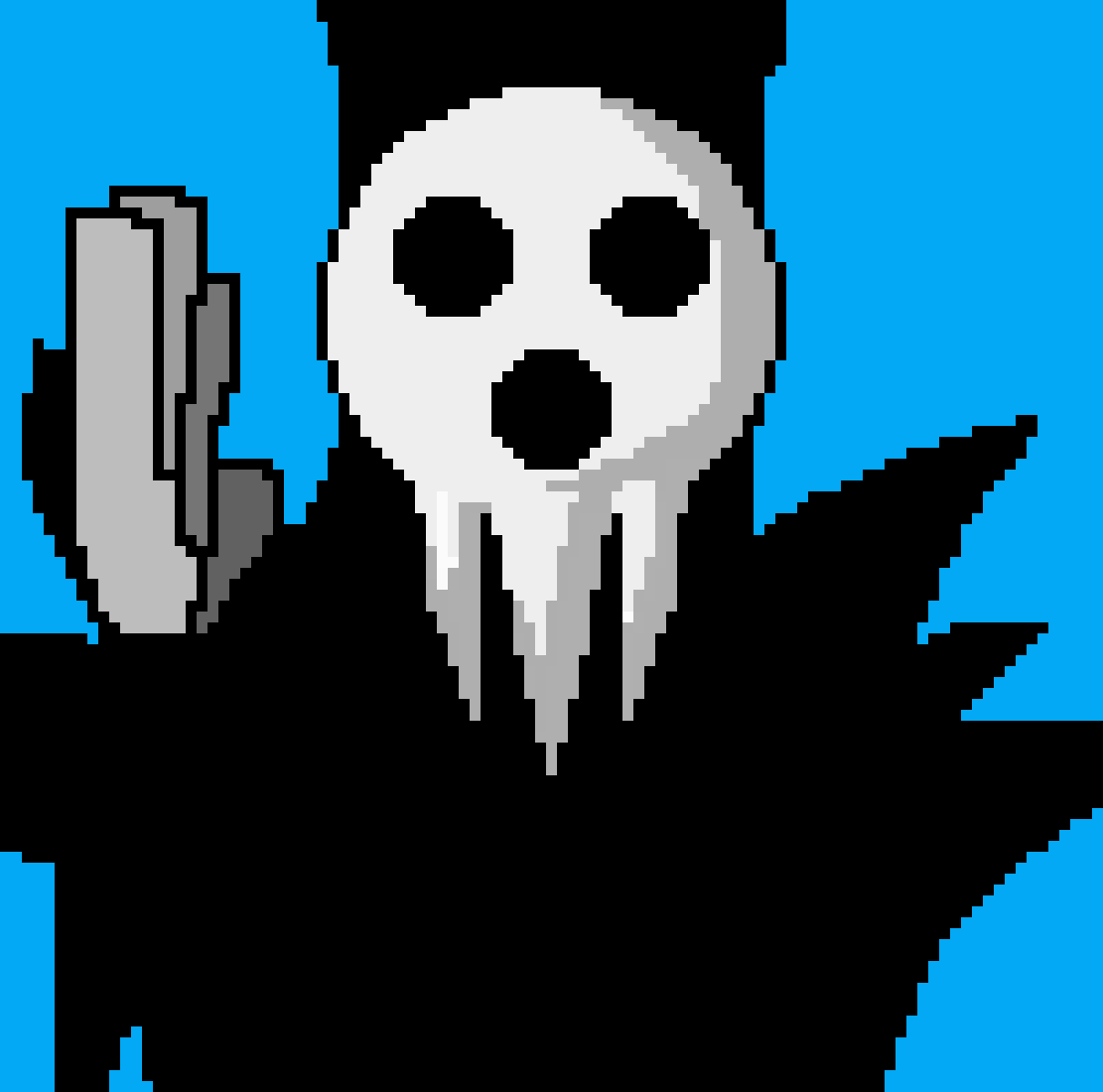 Lord death (soul eater) by Introvertedcomi