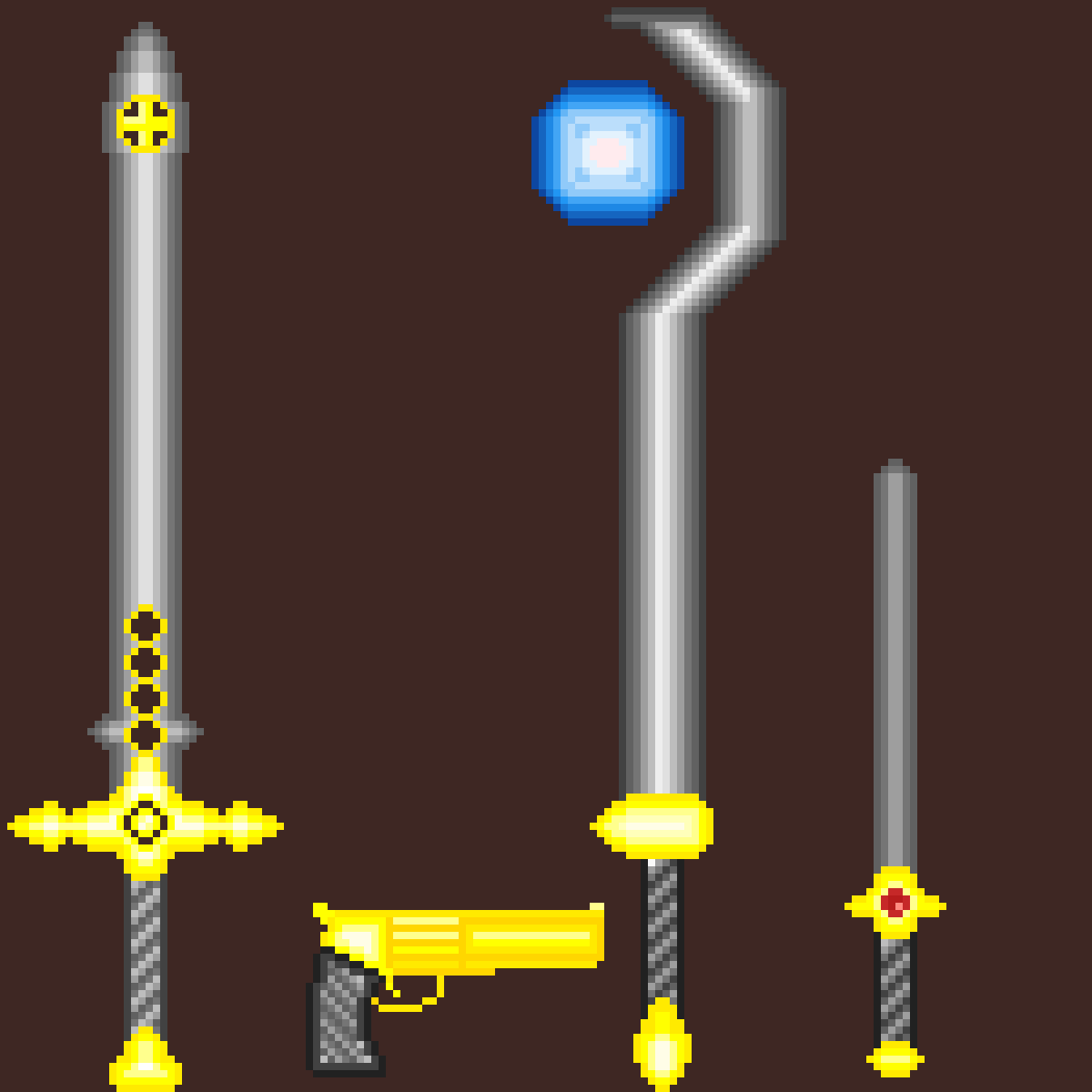 weapons by landonkw