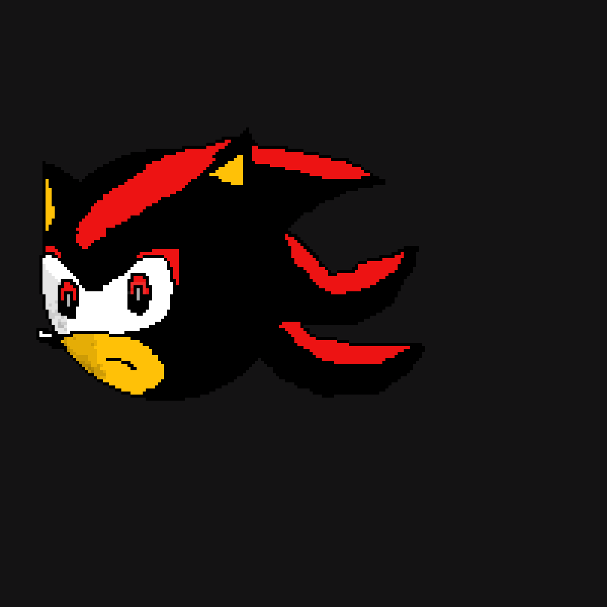 Shadow The Hedgehog by James-The-Robot