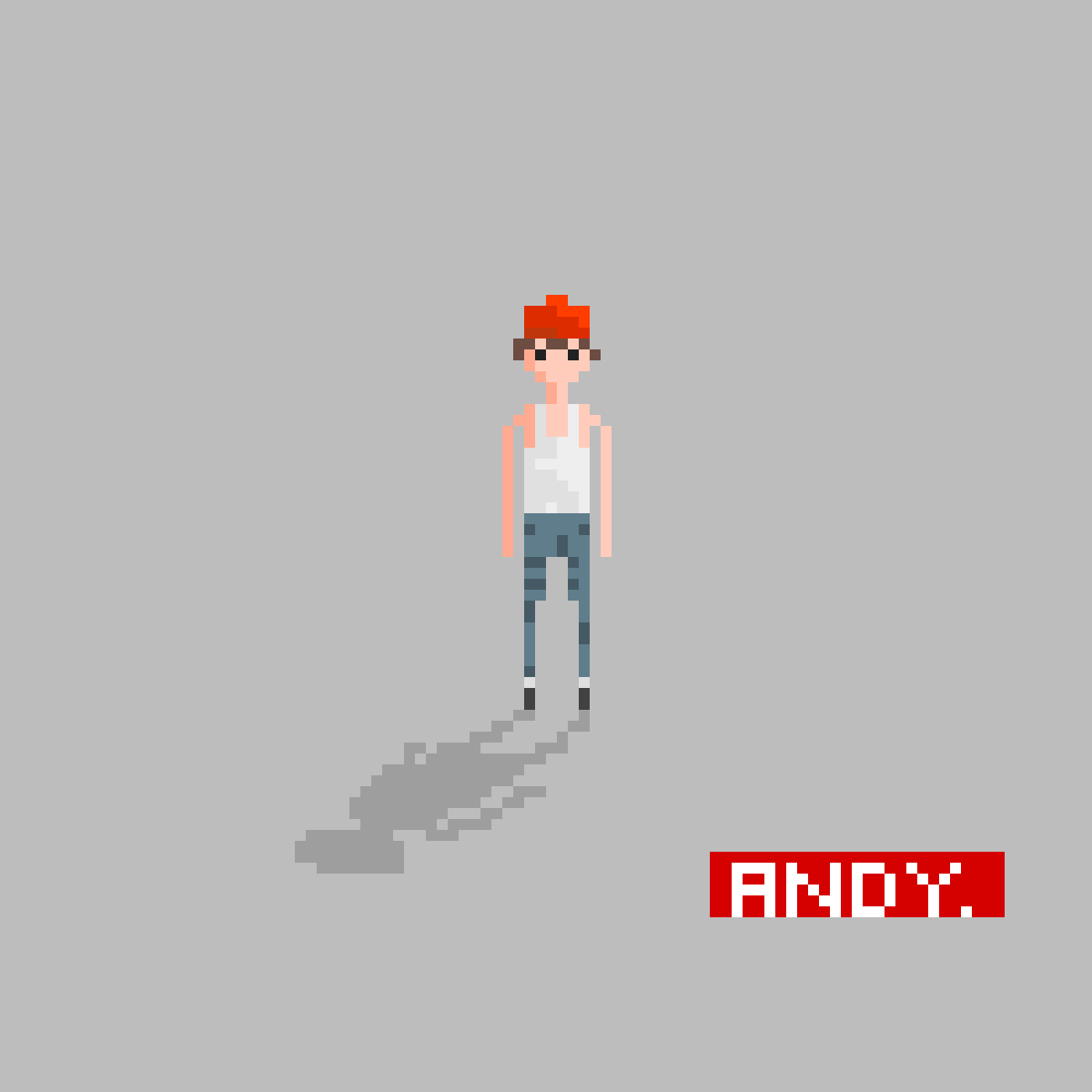 Andy by pixelation