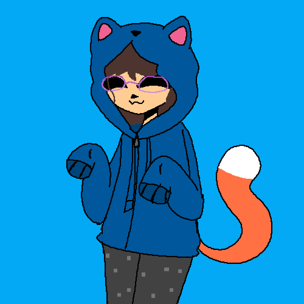 Me In a Hoodie by Bill-Cipher21